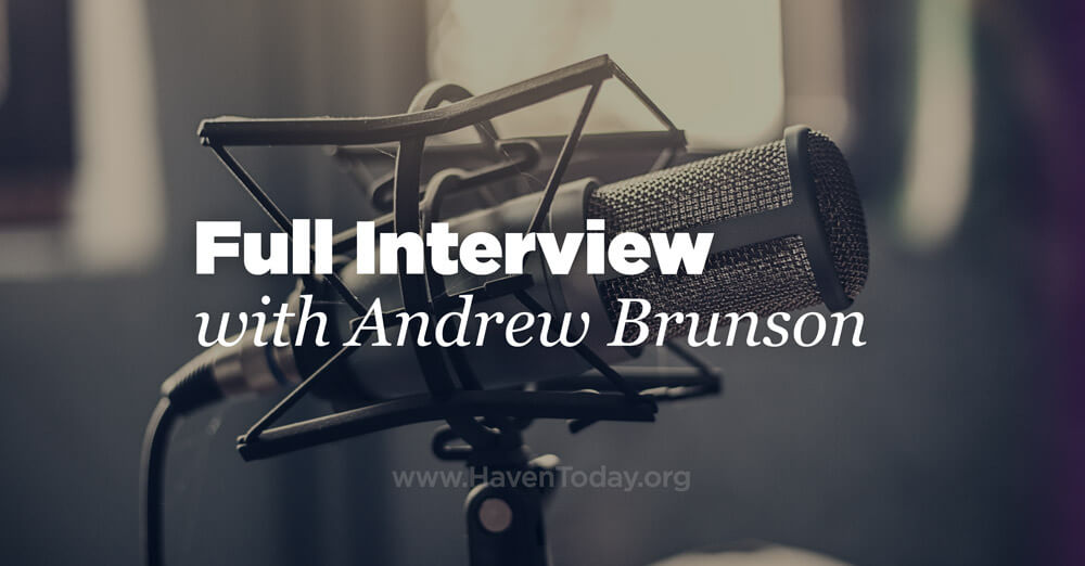 Full Interview with Andrew Brunson