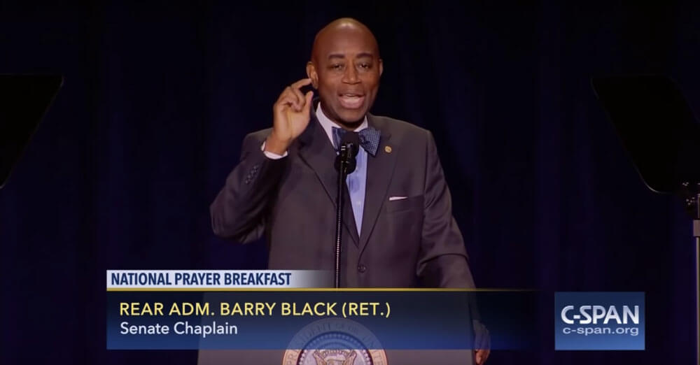 Barry Black: Make Your Voice Heard in Heaven